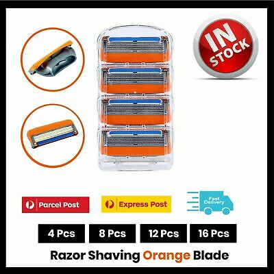 AU15.75 • Buy 16X 5 Blades For Gillette Fusion Razor Shaving Shaver Trimmer Refills Cartridges
