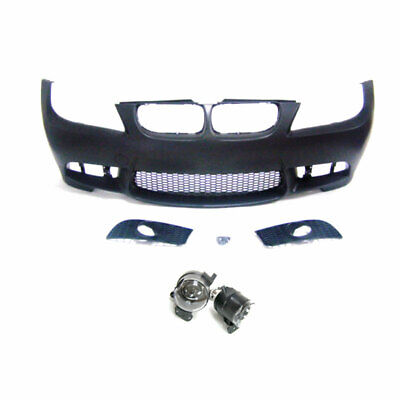 $399.98 • Buy M3 Style Front Bumper Without PDC Wiht Fog Lights For BMW 3Series E90 06-08