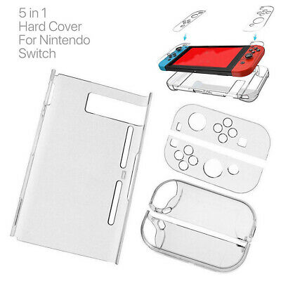 $8.11 • Buy Transparent Case Cover For Nintendo Switch Hard Dustproof NEW Protective J8G9Y