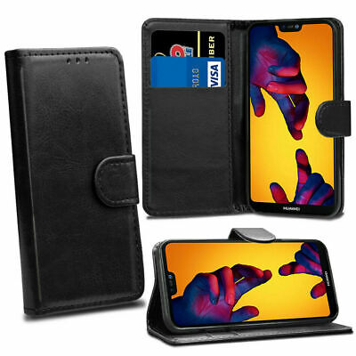 Case For Huawei P20 P30 Pro P40 Leather Cover Magnetic Folio Flip Wallet Stand • 3.49£