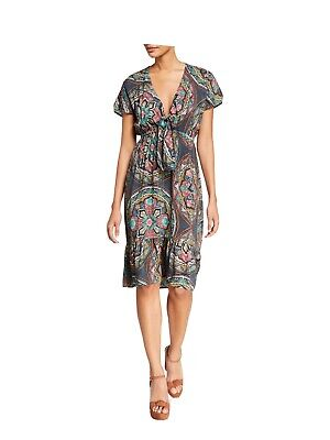 $66 • Buy 💞Johnny Was 💞SPEZIA TIE FRONT COVER UP Kimono Beach Cover Global Up S NWT $198