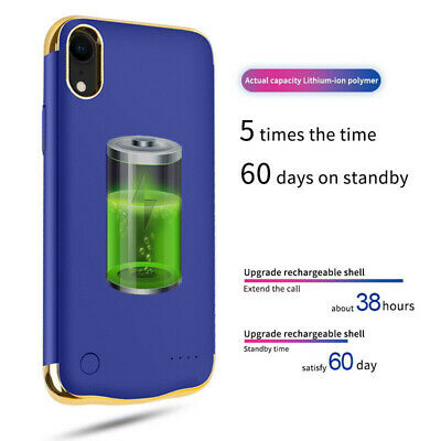 New Slim Battery Case Backup Charging Power Cover For Apple IPhone X/XS XR XSMAX • 19.19£