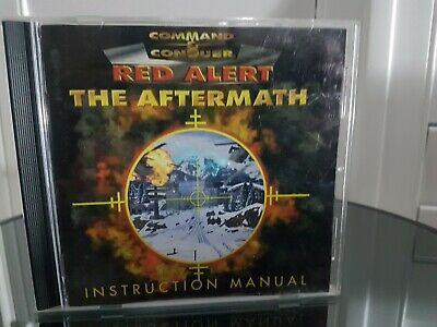 AU19.99 • Buy Command & Conquer Red Alert The Aftermath Instruction Manual Pc Cd Rom