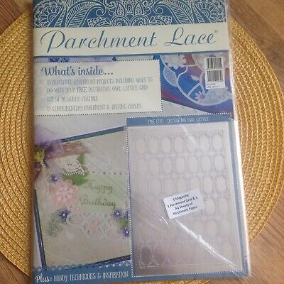 Parchment Lace Magazine - Issue 3 - Free Grid Decorative Oval Lattice • 6.99£