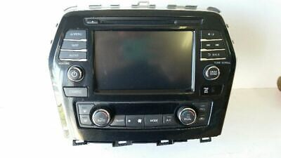 $399.03 • Buy 2017 Nissan Maxima Touchscreen Navigation Radio Assembly, 25915-9dd0a