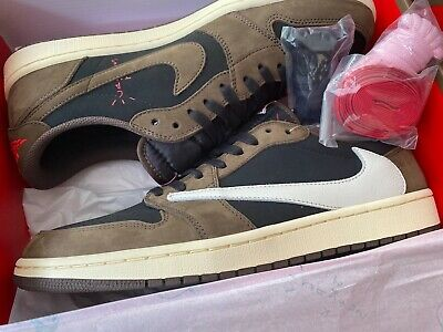 $385 • Buy Air Jordan 1 Retro Low Og Sp Travis Scott   Sz 13 Cq4277 001