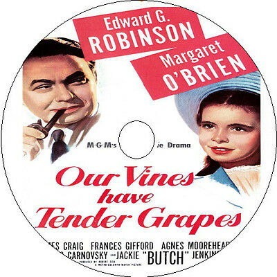 £2.75 • Buy Our Vines Have Tender Grapes DVD Edward G. Robinson Margaret O'Brien Rare 1945