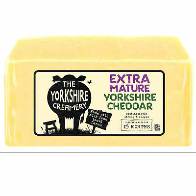 £17.95 • Buy Yorkshire  Extra Mature Yorkshire Cheddar Approx  1.1kg