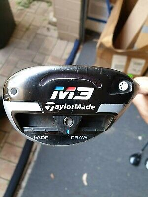 AU179.99 • Buy Taylormade M3 #4 Hybrid 21* Rescue Utility Golf Club Regular Or Stiff Graphite
