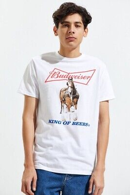 $ CDN16.49 • Buy (Officially Licensed) Budweiser King Of Beers Retro Inspired T Shirt