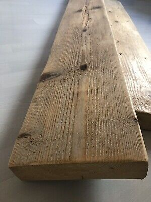 Reclaimed Scaffold Boards Sanded & Waxed   *choose Your Length And Wax Shade* • 12.99£