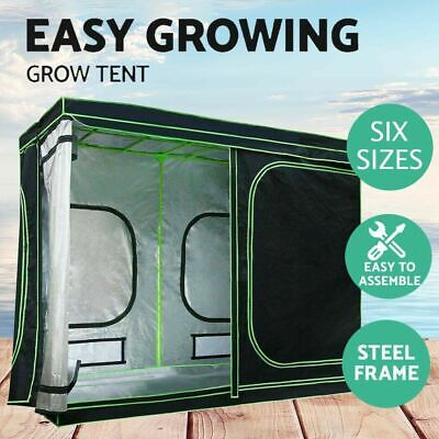 AU199.90 • Buy Steel Frame Plant Tent 600D Oxford Cloth Indoor Grow Tent Kits 6 Sizes