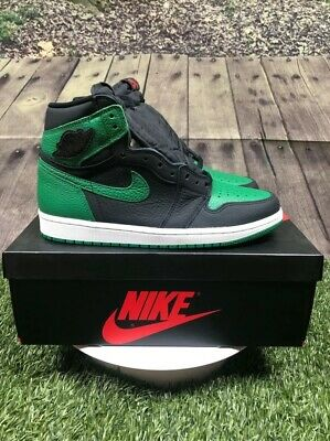 $152.50 • Buy Nike Jordan 1 Retro High Pine Green Black Sz 8 555088-030 Rare Free Shipping🔥