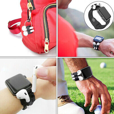 AU8.48 • Buy Silicone Holder Anti-lost Strap Fixed Band For AirPods Ear Pods Watch Band Case