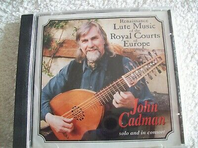 John Cadman - Renaissance Lute Music Of The Royal Courts Of Europe CD  • 17.98£