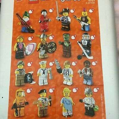 Genuine Lego Minifigures From  Series 4 Choose The One You Need • 4.99£