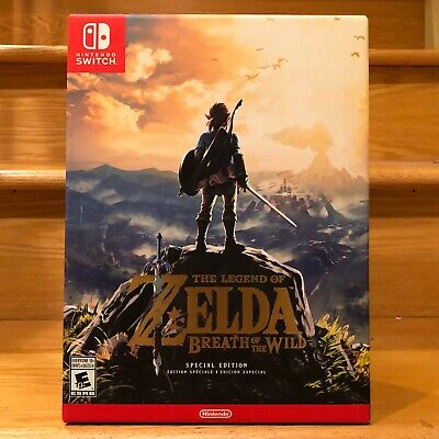 $139.99 • Buy Legend Of Zelda: Breath Of The Wild Special Edition Nintendo Switch, 2017 SEALED