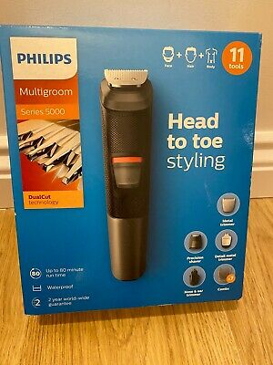 AU88.78 • Buy Philips Multigroom MG5730 Series 5000 Hair Body Beard Trimmer Shaver Waterproof