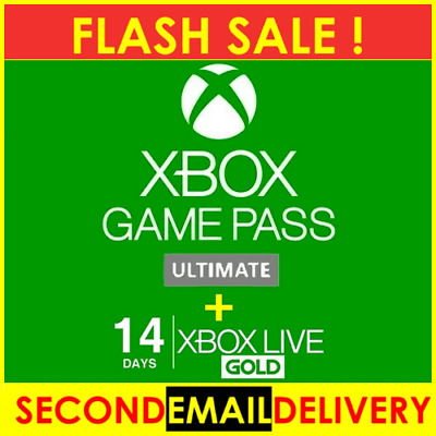 $1.90 • Buy  XBOX LIVE 14 Day GOLD + Game Pass ( Ultimate ) Trial Code - INSTANT DISPATCH