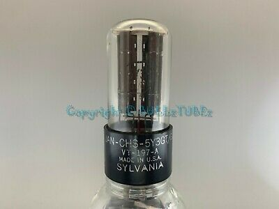 $ CDN64.35 • Buy SYLVANIA VT-197A 5Y3 RECTIFIER TUBE * TESTS As NOS On AT1000 * JAN-CHS-5Y3GT/G