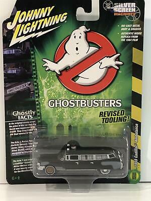 Ghostbusters 1959 Cadillac Ambulance Pre Ecto 1 1:64 Scale JLSS005 • 12.99£