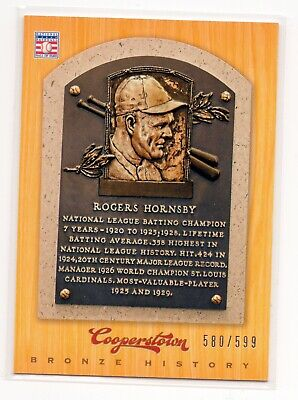 $1 • Buy Rogers Hornsby 2012 Panini Cooperstown Bronze History Card Sp 580/599
