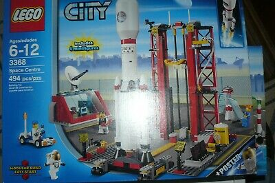 £112.45 • Buy LEGO 3368 City Space Centre 494 Pieces New Sealed In Box Astronauts Launch Pad
