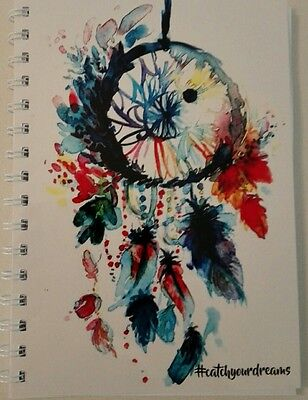 AU12.95 • Buy 2021-2022 Financial Year Diary Dreamcatcher # A5 ONE WEEK TO PAGE