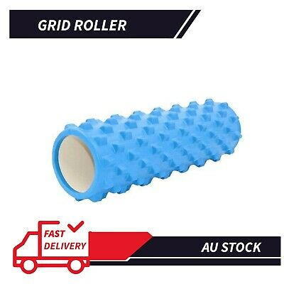 AU24.21 • Buy Grid Roller Yoga Foam Trigger Point Massage Pilates Physio Gym Exercise EVA PVC