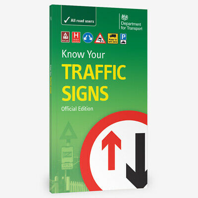 £5.75 • Buy Know Your Traffic Signs Brand New Valid For 2021 Free Postage