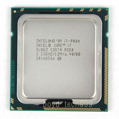 $ CDN125.06 • Buy Intel Core I7-980X Extreme Edition 3.33GHz 6 Core 12M LGA 1366 CPU Processor