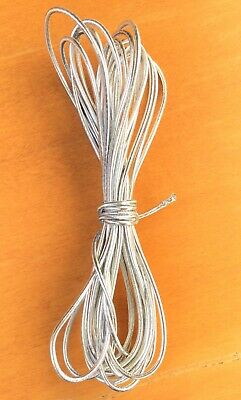 $ CDN6.70 • Buy 2mm Beading Silver Round Elastic Stretchy Cord 10 Yards