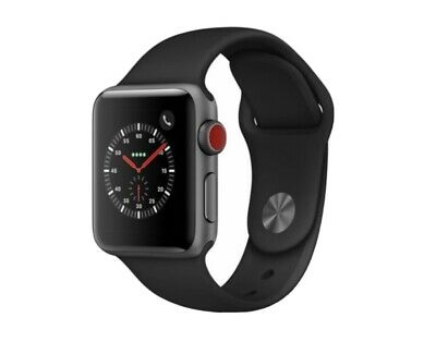 $ CDN358.90 • Buy Apple Watch Series 3 42mm Space Gray Aluminium Case With Black Sport Band (GPS +