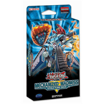 YuGiOh! Mechanized Madness Structure Deck | 1st Edition | New & Sealed TCG Cards • 9.29£