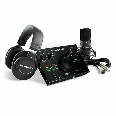 $219 • Buy M-Audio Air 192 4 Vocal Studio Pro USB-C Recording Package With Software 192-4