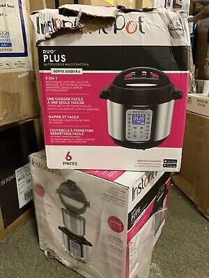 $100.04 • Buy Instant Pot Duo 60 321 Electric Pressure Cooker, 6-QT, Stainless Steel/Black