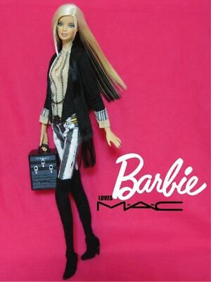$250 • Buy Mattel Barbie Fashion Model Collection M.A.C. 2007 Limited Edition Gold Label