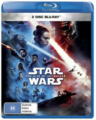 AU20.99 • Buy Star Wars The Rise Of Skywalker Blu-ray BRAND NEW IN STOCK NOW