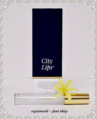 $28.99 • Buy City Lips CLEAR Lip Plumping Lip Gloss Treatment  ~ Brand New ~ Factory Sealed