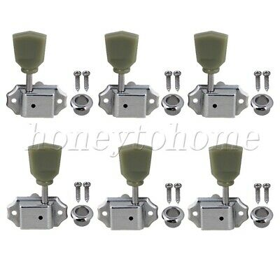 $ CDN18.01 • Buy 3L3R Guitar Tuner Pegs Tuning Keys For Guitar Tuning Green Button