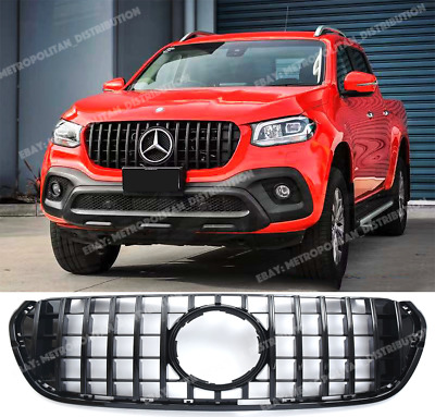 AU645.02 • Buy GT Panamericana Grille,Mercedes X Class Pickup.BR470,full Gloss BLACK Series AMG