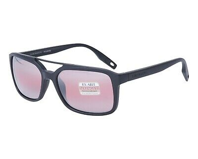 $175 • Buy Serengeti Renzo Satin Black Polar Photo Sedona Bi Mirror Sunglasses 8625 New
