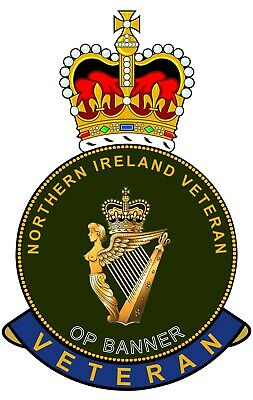 £4.29 • Buy UDR Ulster Defence Regiment Northern Ireland Veterans Clear Cling Sticker