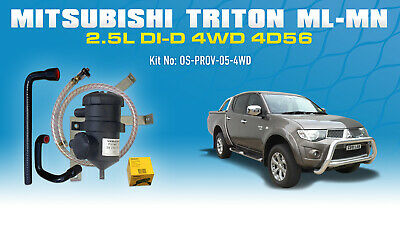 AU305 • Buy Mann ProVent Oil Catch Can Kit For Mitsubishi Triton 2006-15 ML MN 2.5L Challeng