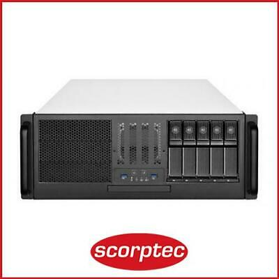 AU490 • Buy SilverStone RM41-H08 Black 4U Rackmount Case, No PSU