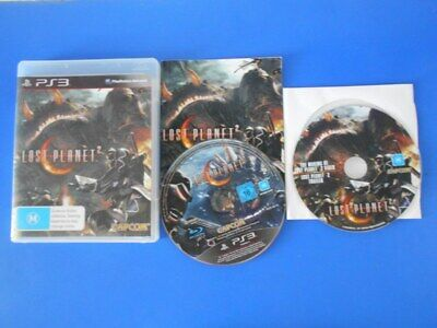AU10 • Buy Lost Planet 2 + DVD - Sony PS3 PlayStation Three Games PAL