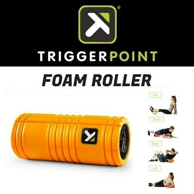 AU69.95 • Buy Trigger Point GRID Foam Roller Gym Training Therapy Muscle Pain Relief ORANGE