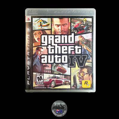 AU14.95 • Buy Grand Theft Auto IV (Sony PS3) VGC - Complete + Map - Fast Post - Action