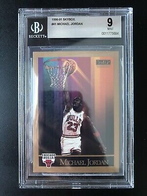 $59.99 • Buy 1990 Skybox Michael Jordan BGS 9 #41 GEM MINT-Sweet Golf Photo On Back