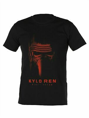 Licensed Mens Star Wars Black Kylo Ren T-shirt Gift S M L XL Top  • 4.99£